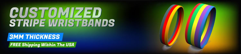 Get 100 free wristabands