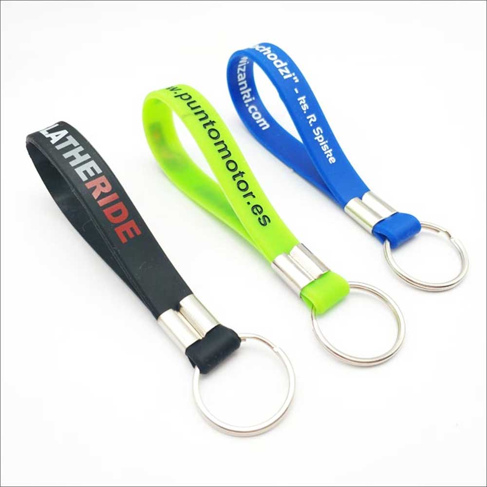 Silicone Keychain, Key ring, keychain