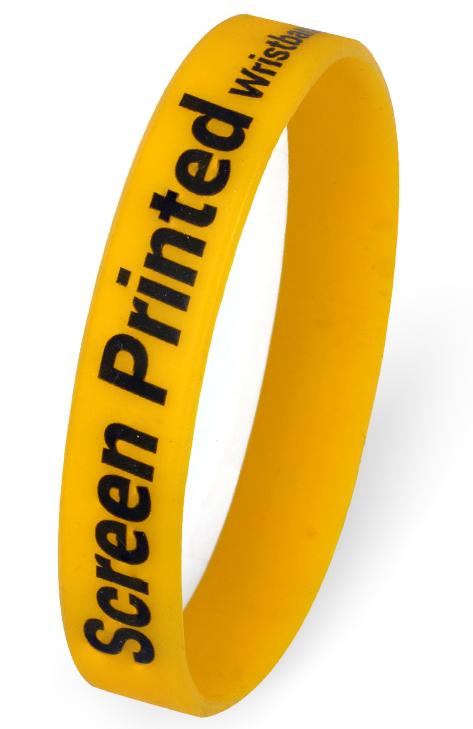 Printed Wristbands - Screen Printed
