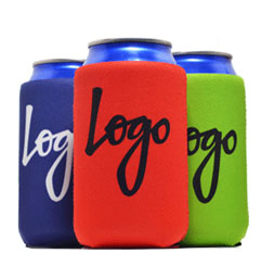 Screen Printed Can Coolers