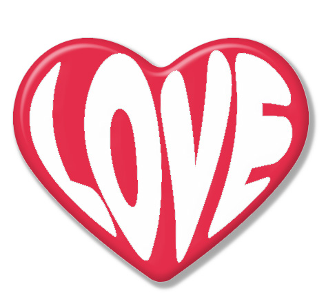 Heart Pinbadge