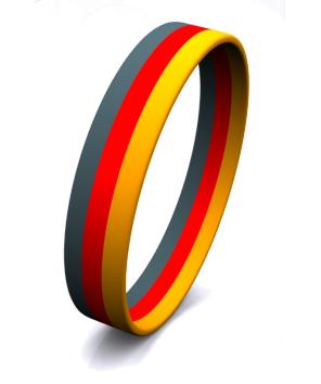 3 Color Stripe Segmented