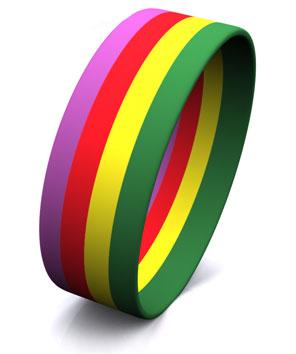 4 Color Stripe Segmented